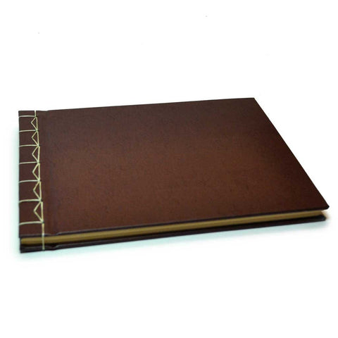 Bonded Leather Stab Bound Book