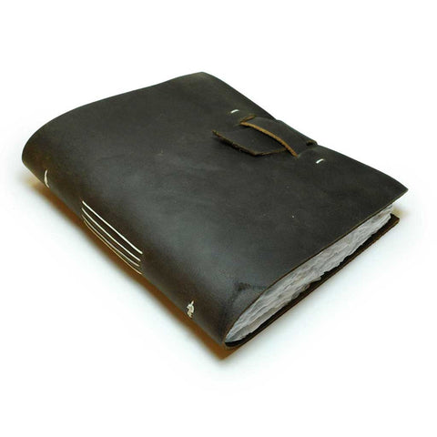 Genuine Leather Book with Closure