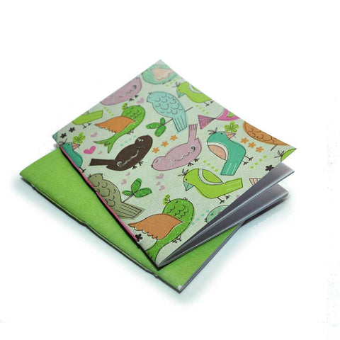 Mini Notebooks Birds