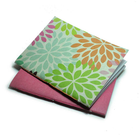 Mini Notebooks Petals