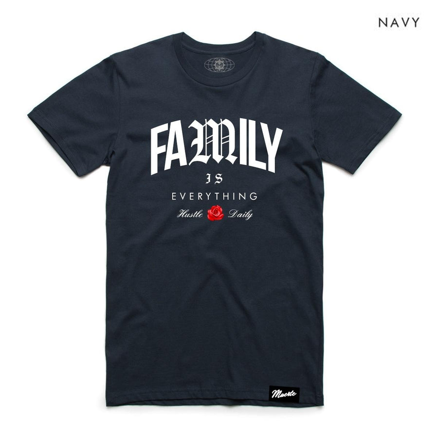 Hasta La Muerte - Family Is Everything Navy