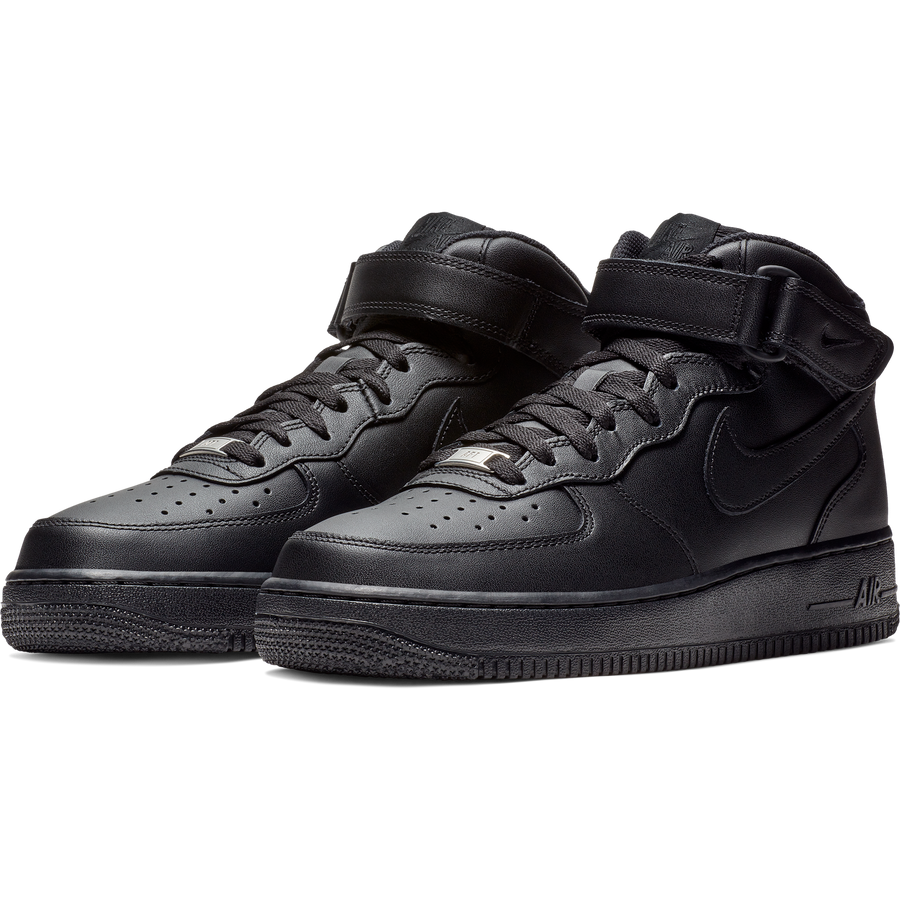 Nike - Air Force 1 Mid 315123 001 Black