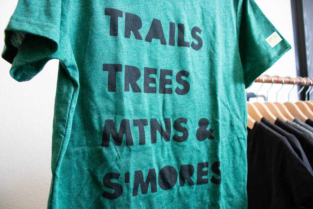 Trails Trees MTNS & S'Mores
