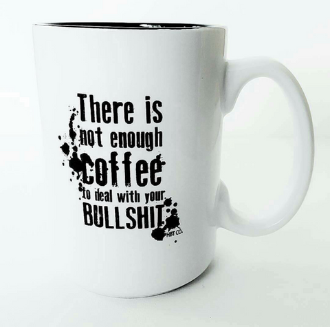 Bullshit Coffee Mug // 15 ounce ceramic