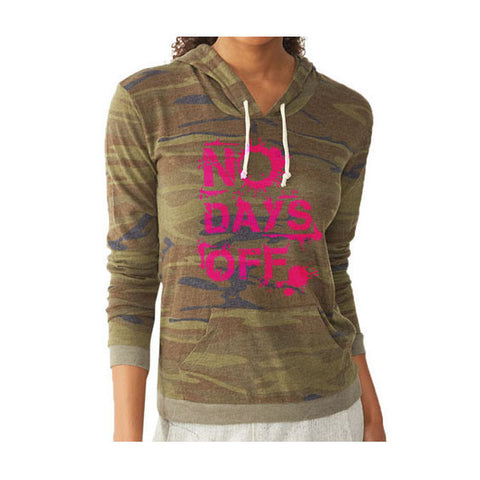 Camo Hoodie // Women's Alternative Apparel // Pre-order