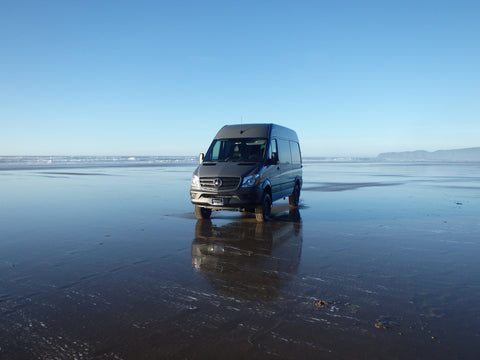 Sprinter 4x4 on the Oregon Coast