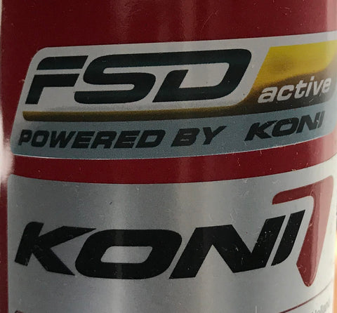 Koni FSD Shocks - Formerly Gold now Red