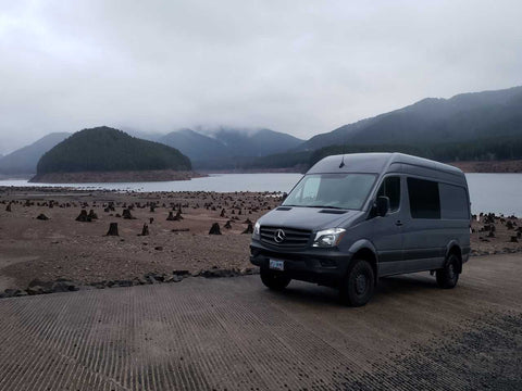Sprinter at Detroit Lake Oregon