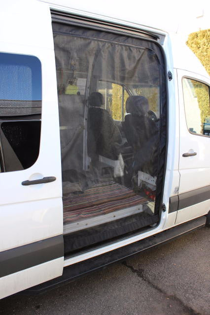 Sprinter Van Slider Door Insect Screen Sprinter Upgrades