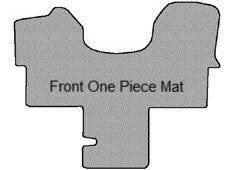 Sprinter Carpet Front Floor Mats - Cut Pile