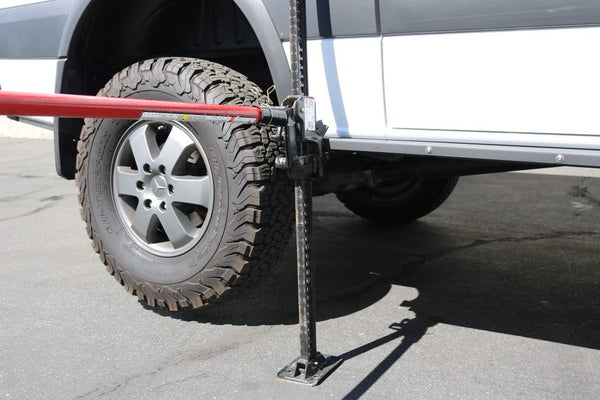 Sprinter 4x4 Rock Rails with Hi-Lift jacking points