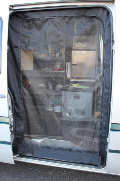 Sprinter slider door insect screen early body
