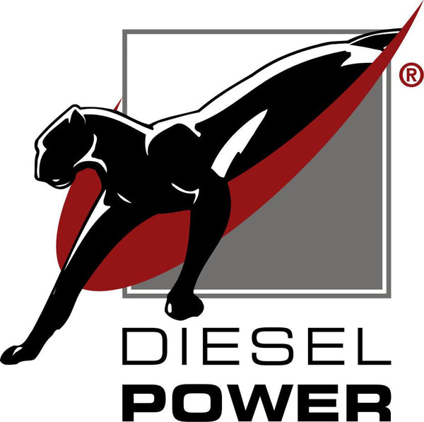 Diesel Power logo with panther