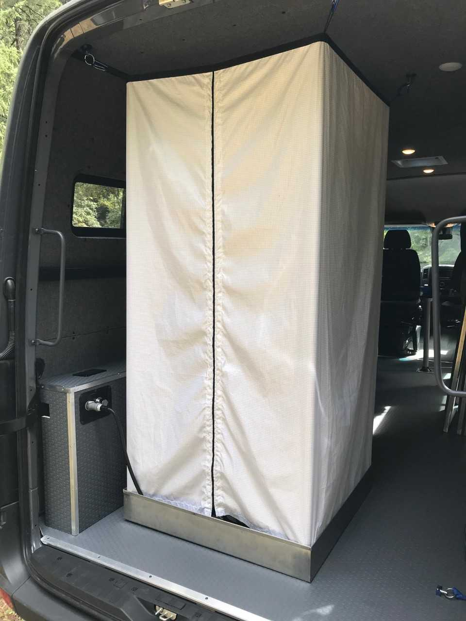 Sprinter Shower Kit for DIY Camper Van Conversions – Sprinter Upgrades