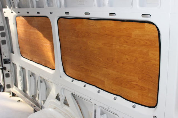 Sprinter passenger van 144 wb rear window insulation set