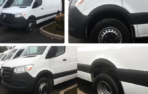 Sprinter 2019 VS30 fender flares