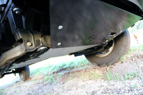 Spinter 4x4 front skid plate