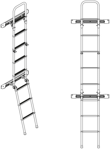 Sprinter Rear Door Ladder