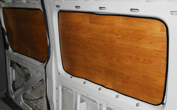 Sprinter passenger van rear window insulation set