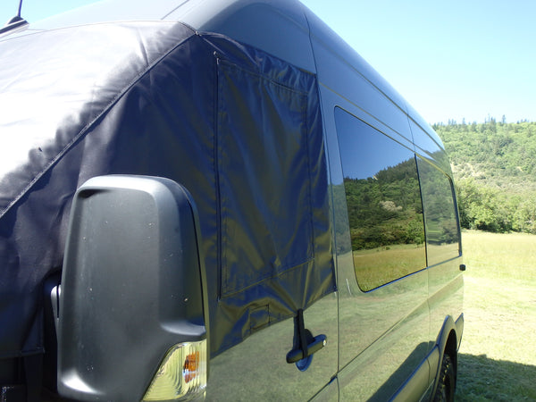 Sprinter Cab Cover with Side Screens