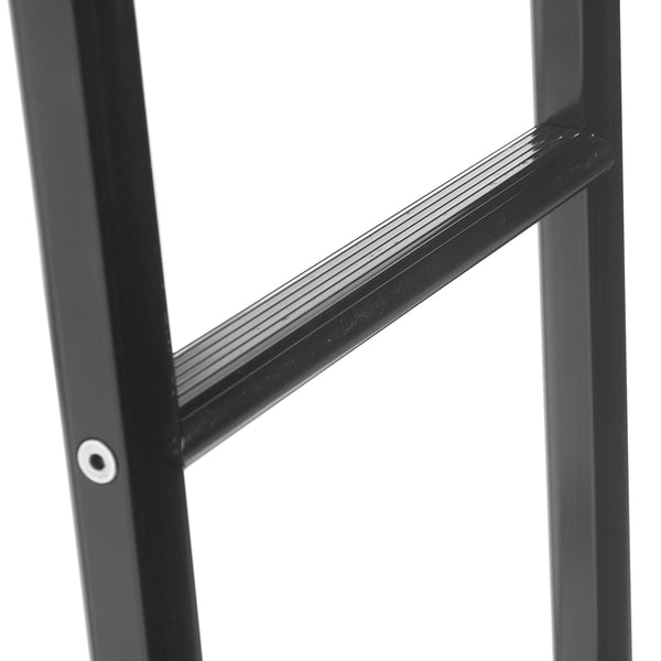 Sprinter rear door ladder black - close