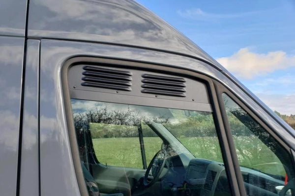 Sprinter Cab Window Air Vent Inserts