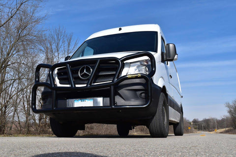 Sprinter Ex-Guard Deer Guard with Headlight Guards