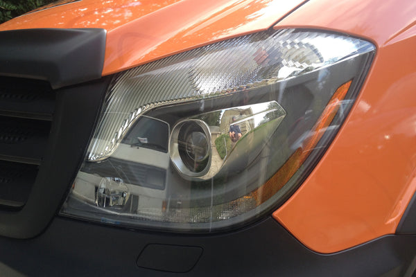 Sprinter Headlight Protection Covers 2014 to 2018