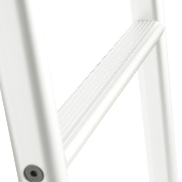 Sprinter rear door ladder silver - close