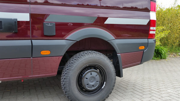 European  model fender flares for Sprinter Commercial Van