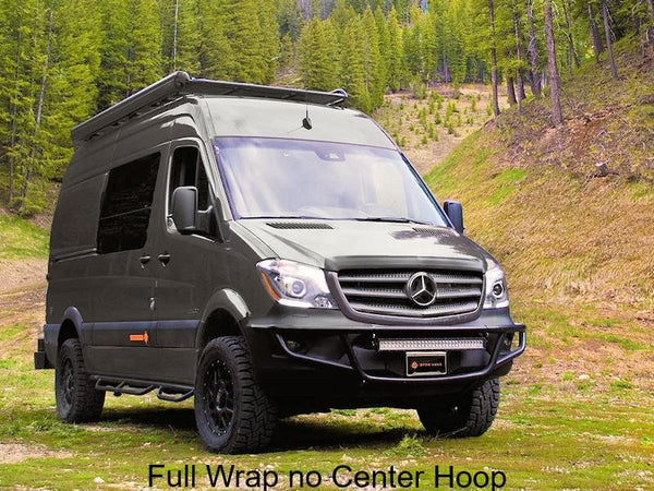 Sprinter full wrap light bar with no center hoop