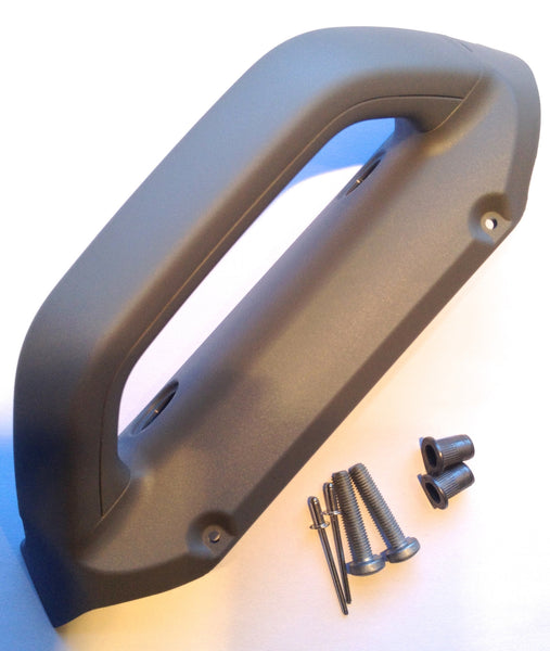 Sprinter grab handle with hardware