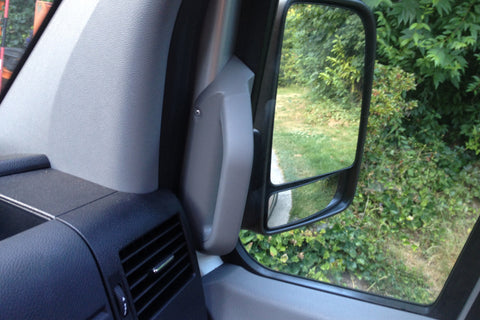 Sprinter grab handle installed passenger side
