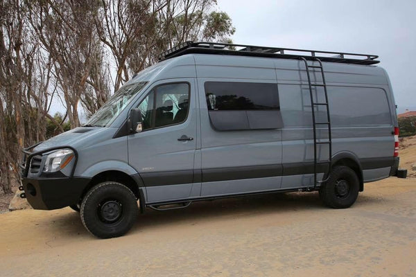 Sprinter bumper, ladder, roof rack and CRL windows