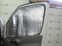 Sprinter driver and passenger insulation panel