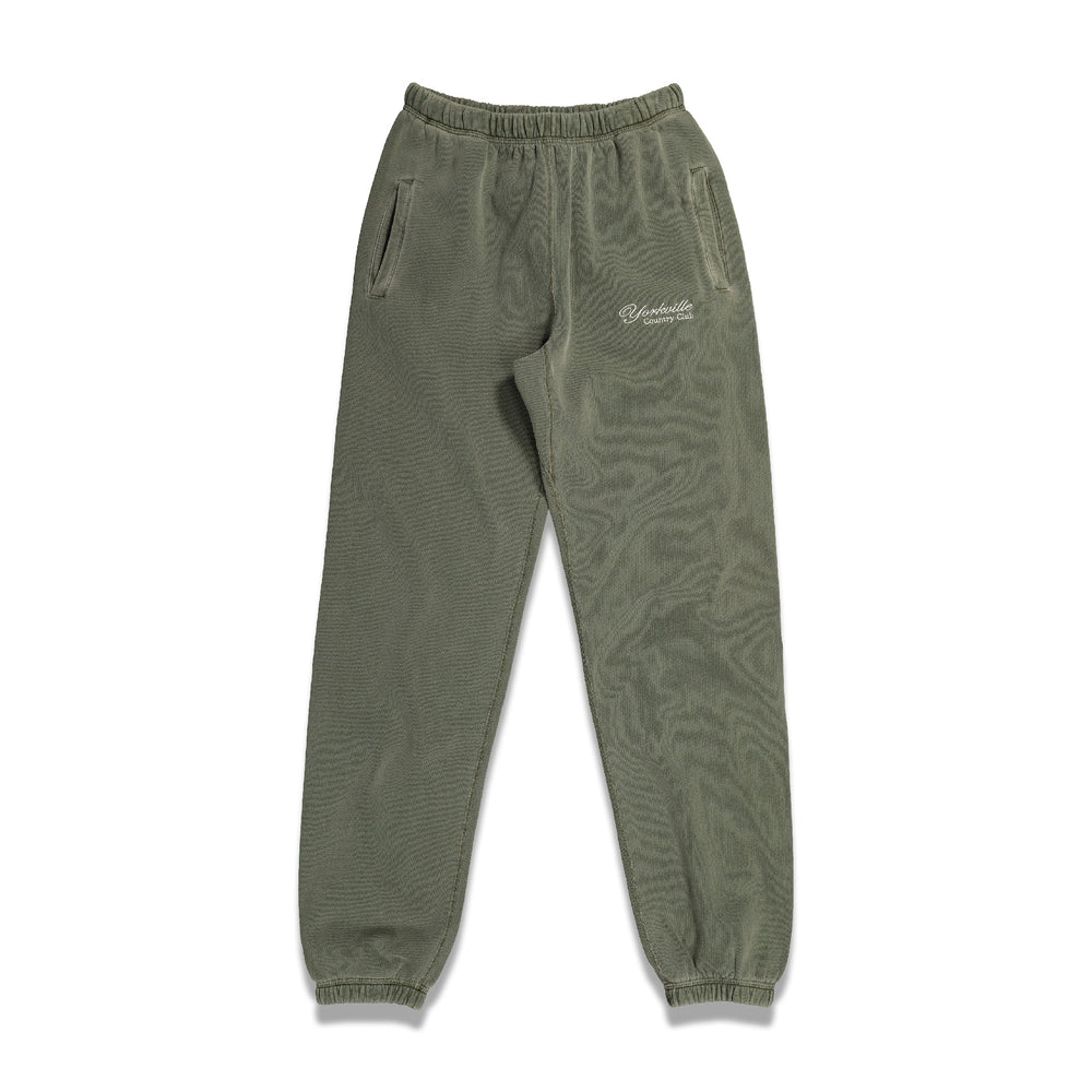Classic Logo Sweatpants In Green - CNTRBND