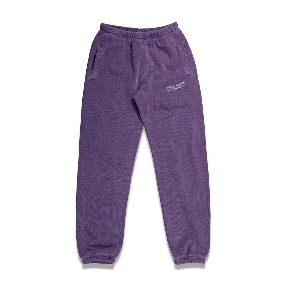 Classic Logo Sweatpants In Purple - CNTRBND
