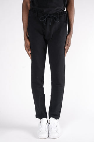 3.1 Phillip Lim Classic Elastic Waist Tapered Trouser In Charcoal