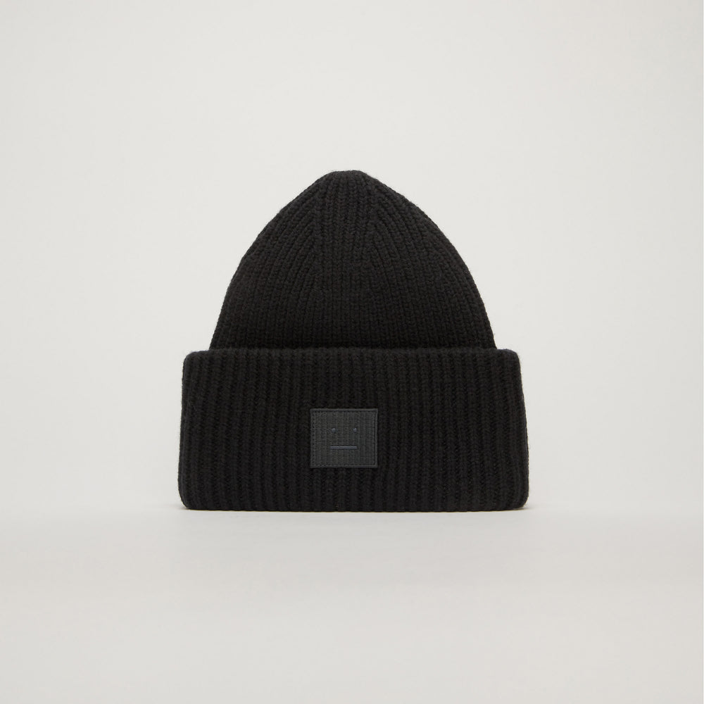 Acne Studios Pansy N Face Beanie In Black