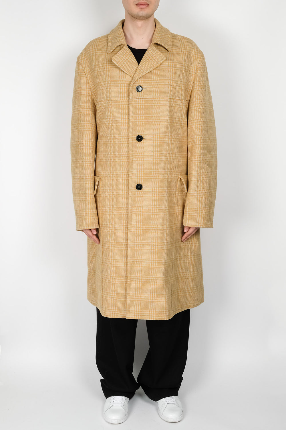 Raf Simons Trenchcoat In Yellow