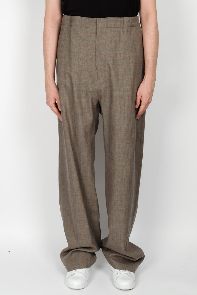 Raf Simons Elastic Wide Pant In Grey