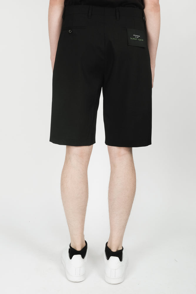 Raf Simons Classic Label Shorts In Black - CNTRBND