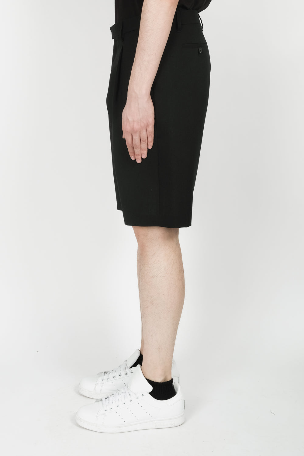 Raf Simons Classic Label Shorts In Black