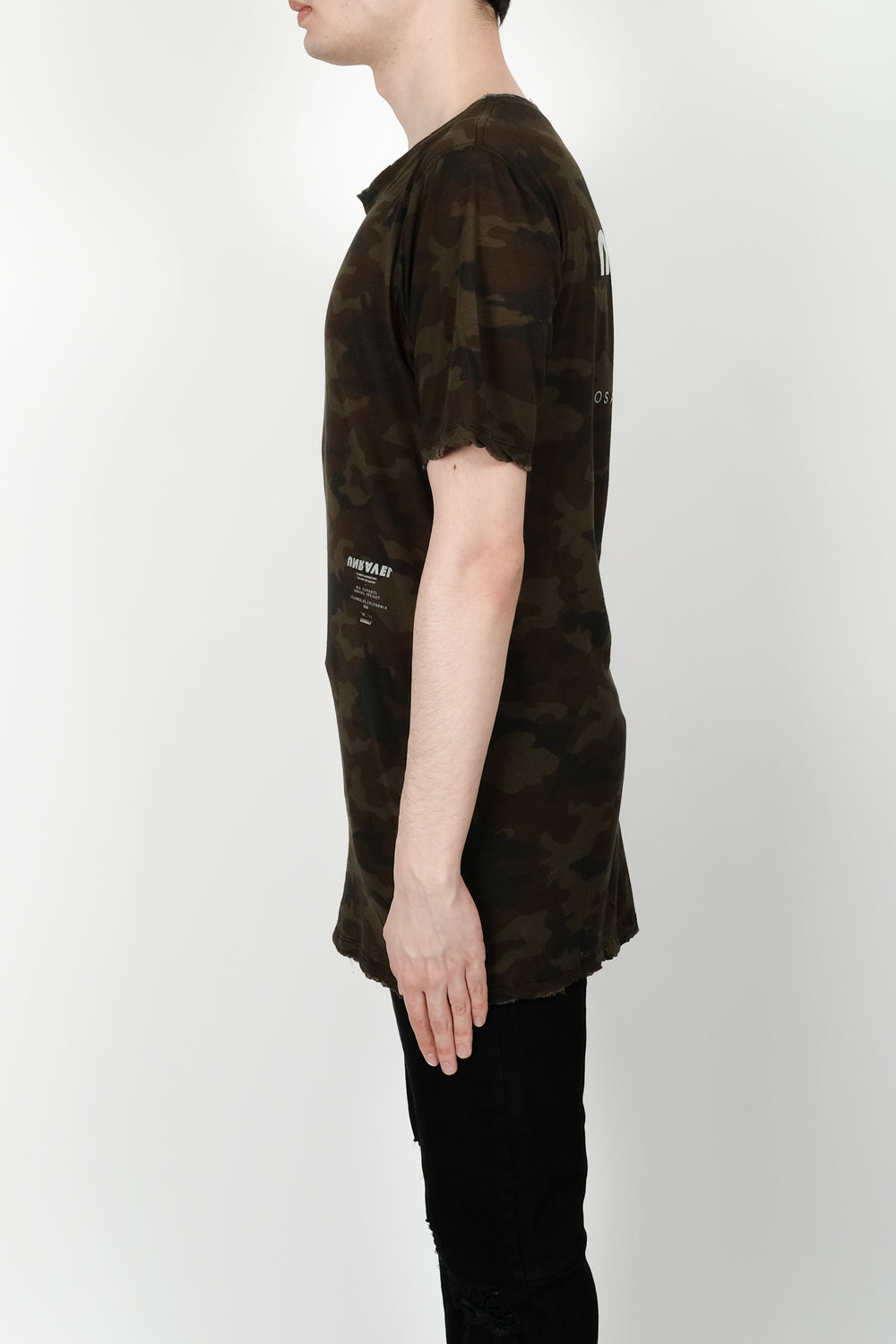 UNRAVEL Tour Skate Tee In Camo