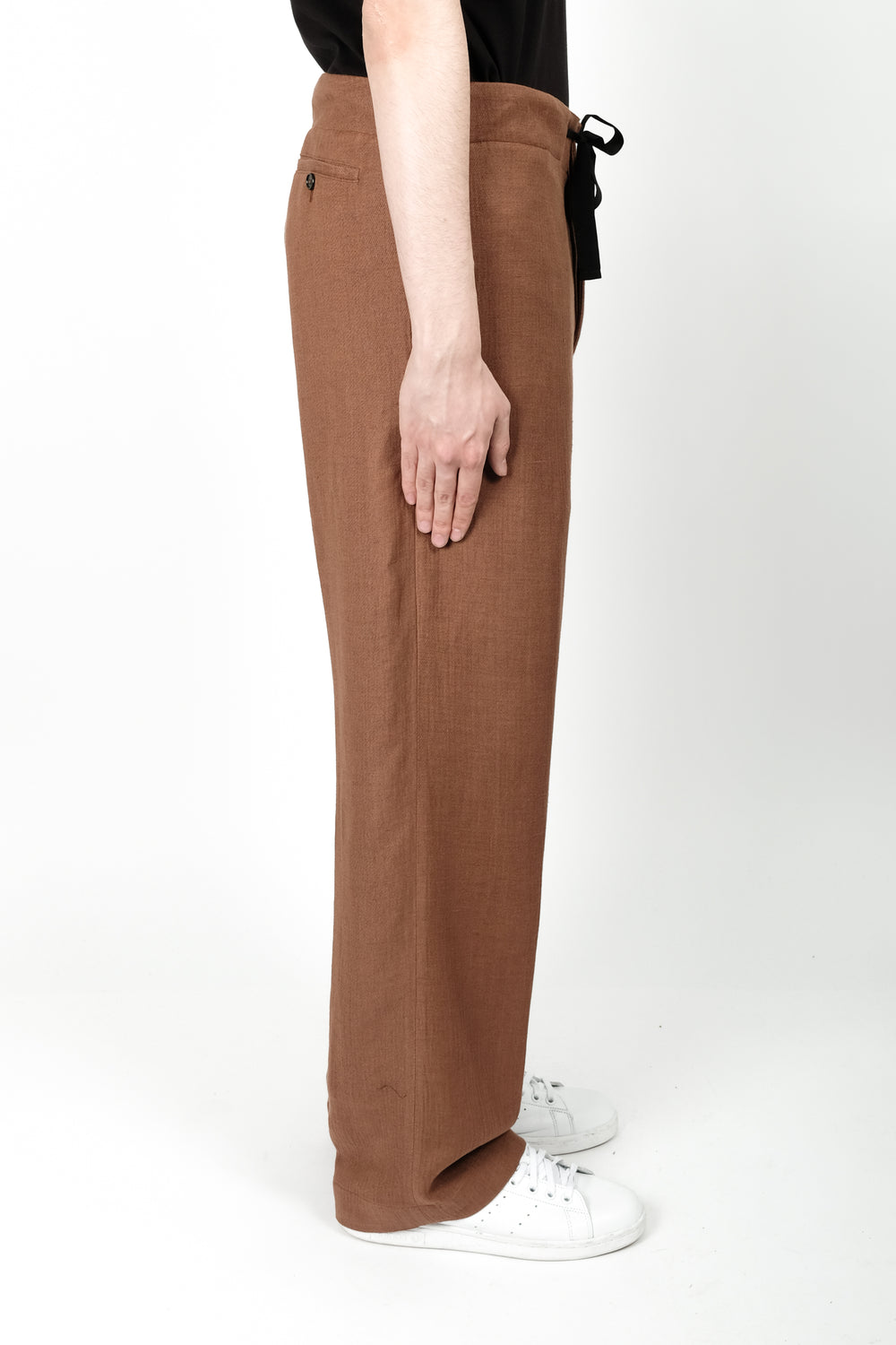 Ann Demeulemeester Larry Trousers In Terracotta