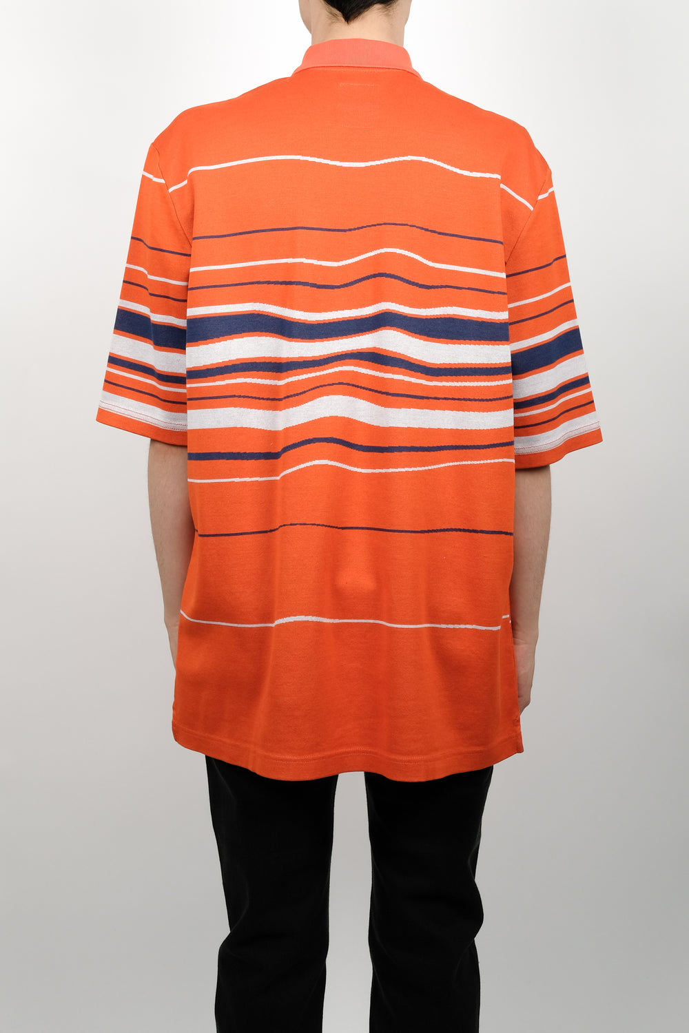 NAPA By Martine Rose Ego S/S Polo In Fantasy Orange
