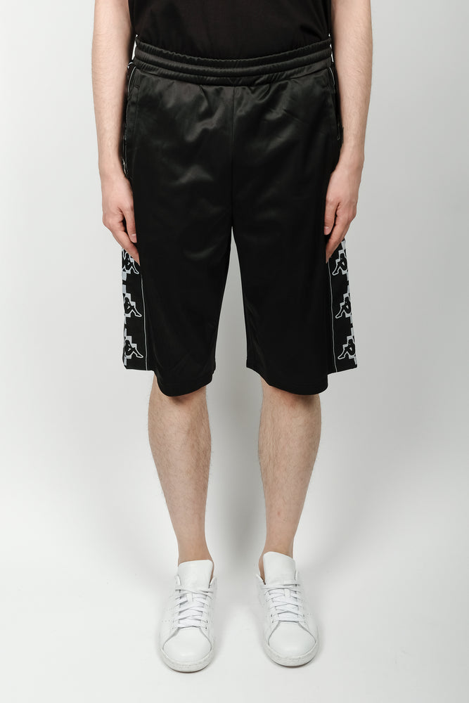 Marcelo Burlon Kappa Tape Shorts In Black - CNTRBND