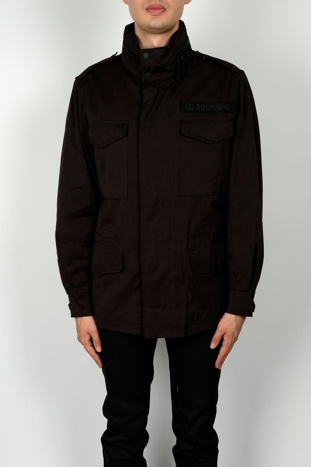 Les Benjamins Zeus Jacket In Black