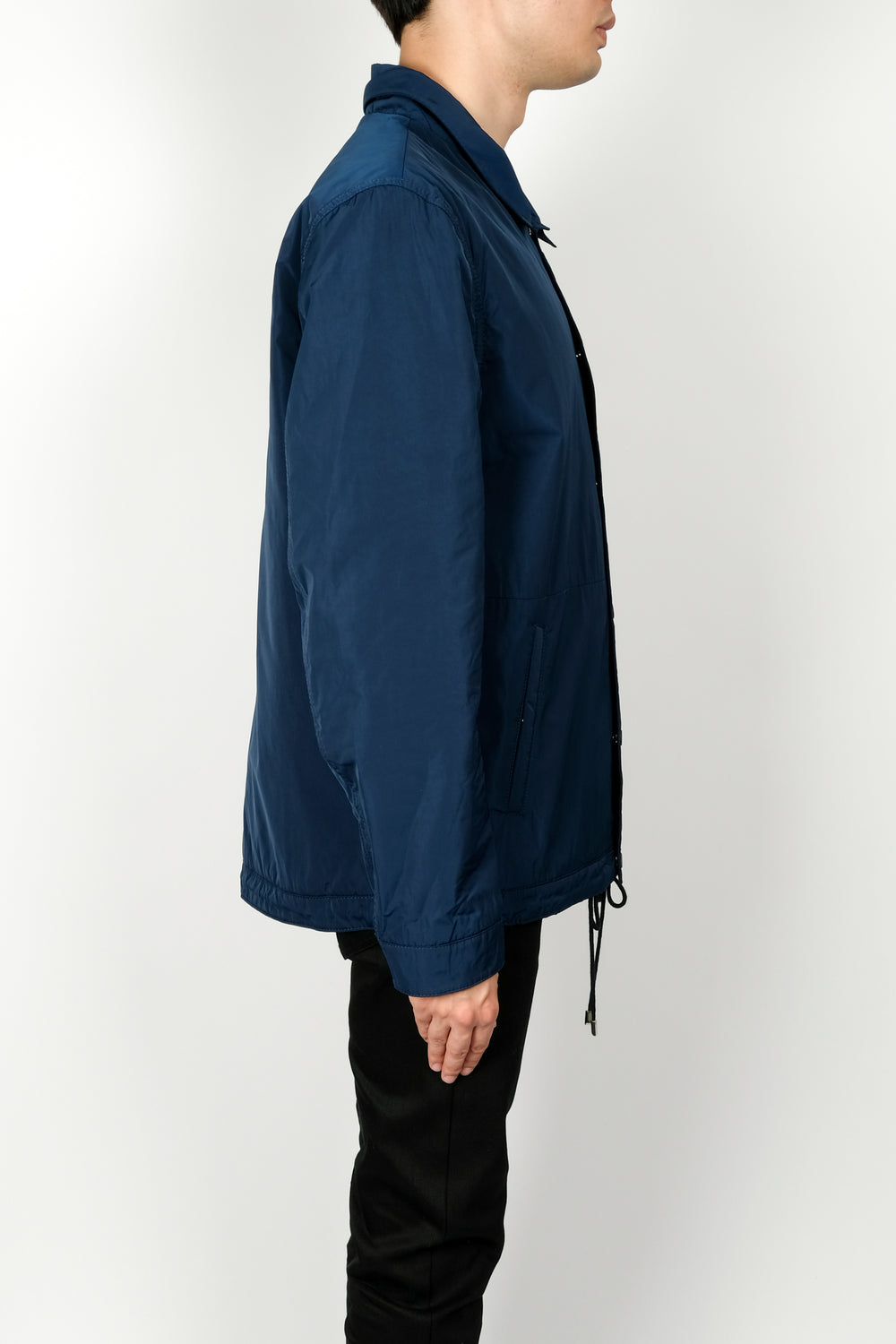 Les Benjamins Habu Jacket In Blue