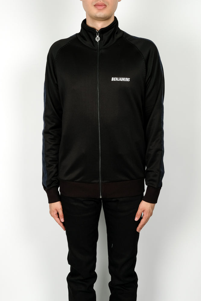 Les Benjamins Loku Jacket In Black - CNTRBND